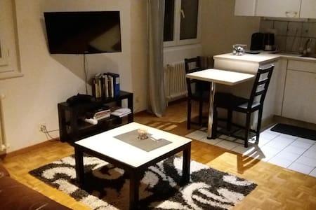 Appartement lit double avec chambre et cuisine - Préverenges