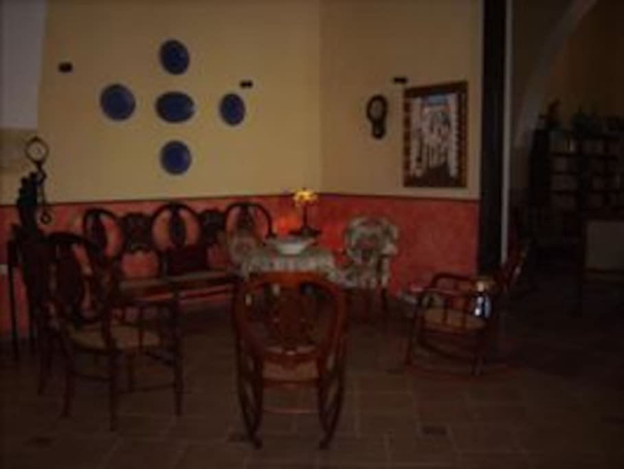 Living room in Hacienda San Jose Poniente