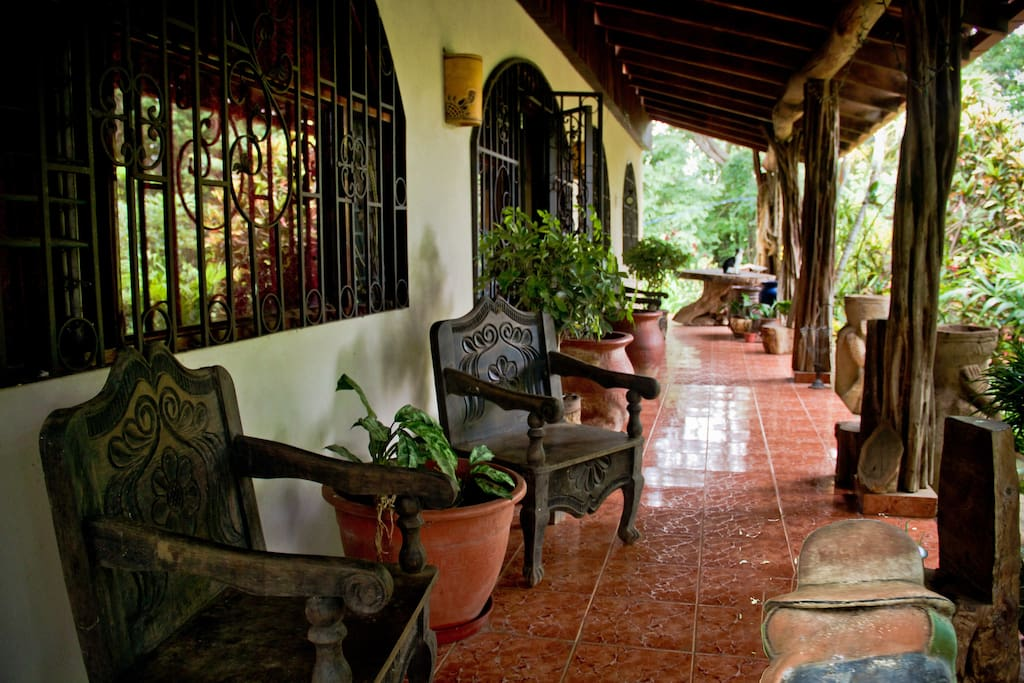 Front porch, great for relaxing