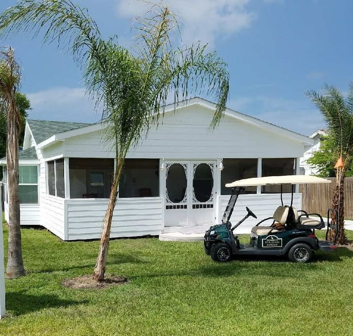 Golf cart available for an additional fee/per day