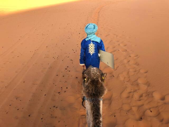 Hassan Family House & camel trekking