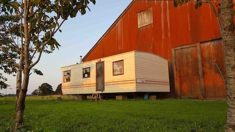Mobile home with a great view
