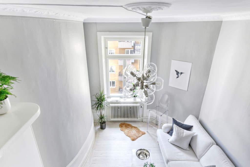 Living room from loft