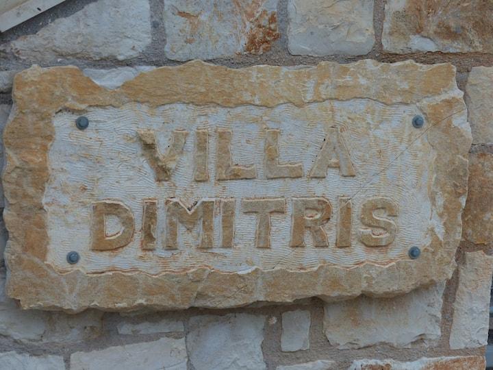 traditional villa dimitris