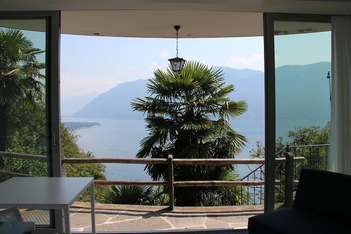 Casa Cincilla über dem Lago Maggiore