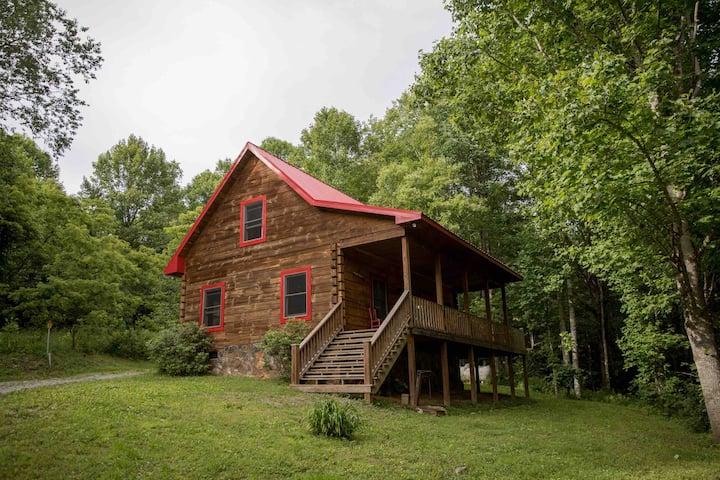 Briar Run Cabin near Grayson Highlands Park