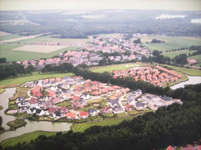 **** Ferienhaus im Golfpark, Nähe Schloss Dankern, Golfplatz Gut Düneburg -50% Greenfee, W-Lan frei, Haren (von privat)