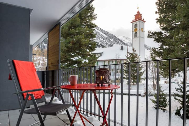 RIVER APARTMENT, in the heart of Andermatt