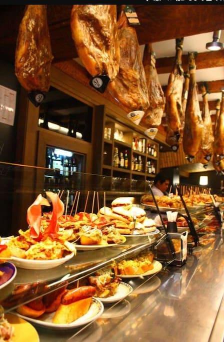 pinchos y tapas en Pamplona