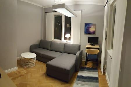 The Grey room in central Uddevalla