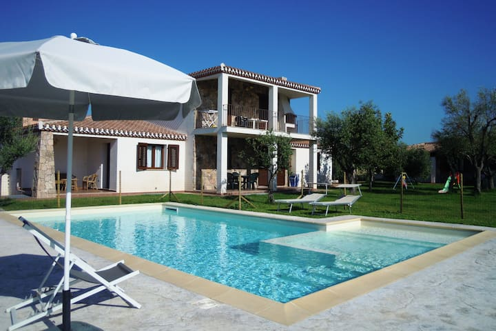 Apartment in Villa with Pool - Lotzorai - Daire