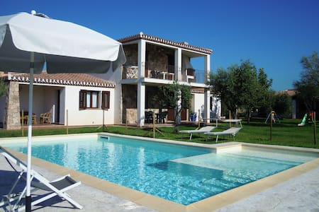 Apartment in Villa with Pool - Lotzorai