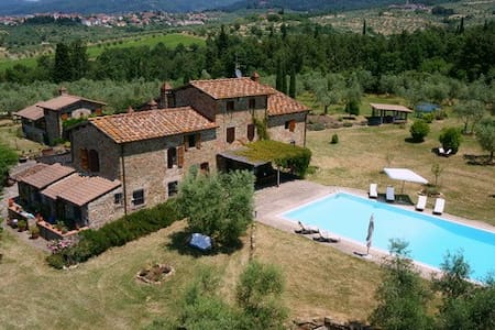 Lovely farmhouse close to Florence - Reggello