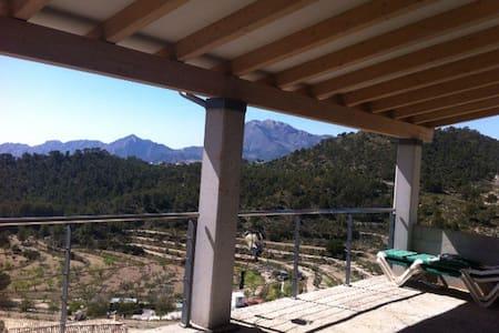 A mountain-lover house - Jijona - Casa
