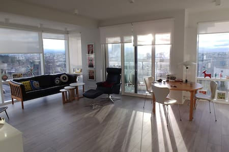 New, bright and centrally located apartment