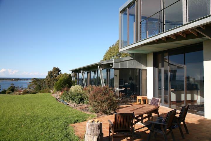 PARADISE LAKESIDE, Ocean Views - Toorloo Arm - Huis