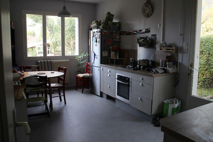 Maison familiale - nombreux couchages