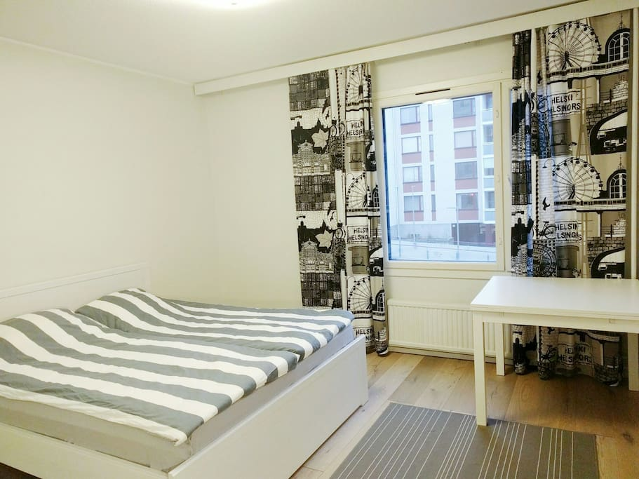 """Bedroom. """"It was clean, the beds are comfortable, and the balcony is really nice."""" (Guest)"""