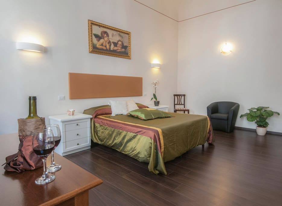 Confortable room with tv lcd, private bathroom, minibar, air conditioned