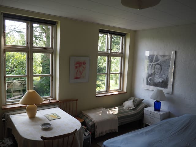 Den Gamle Skole (#2, green room) - Bedsted Thy - Bed & Breakfast