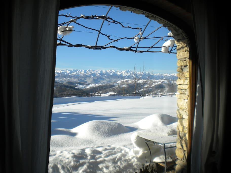Le Alpi innevate