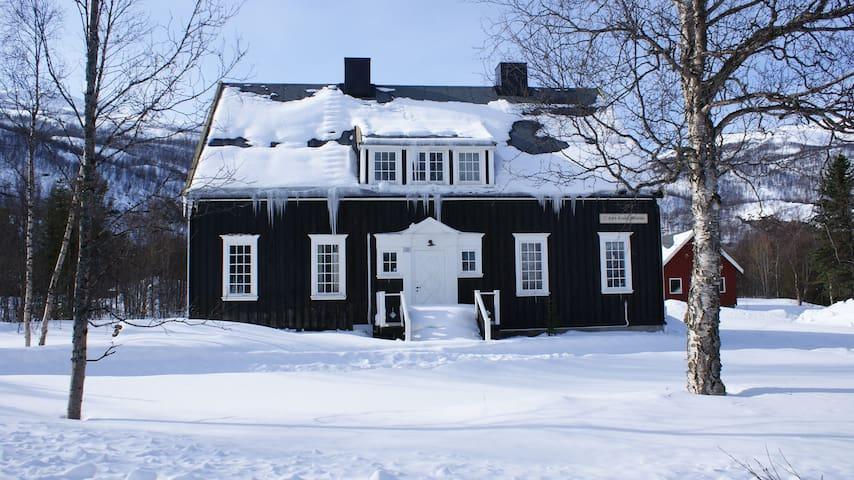 Bjørklygården i nasjonalparklandsbyen Nordreisa