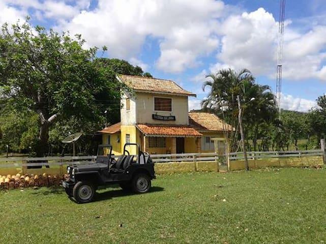 chale na serra - Rio Verde de Mato Grosso - Cabaña
