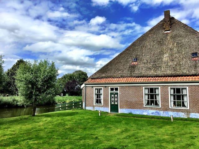 Stolpboerderij te huur tijdens de zomervakantie