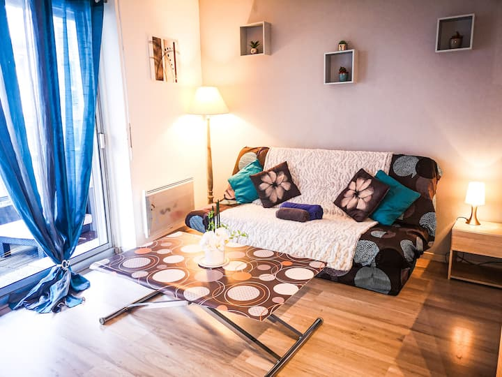"Appartement "" Le Cosy "" en centre ville de Thonon."