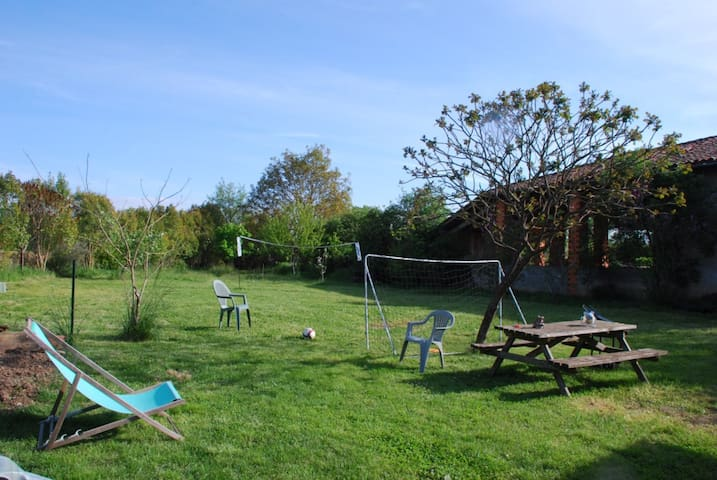 Maison conviviale, jardin loisirs et rivière - Daumazan-sur-Arize - House