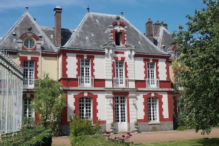 Romantic room in charming Chateau - Sailly-Flibeaucourt - Bed & Breakfast