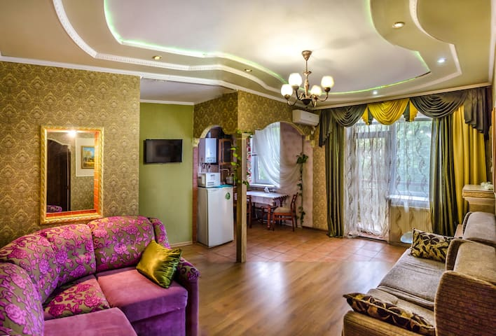 2-bedrooms apartment with a hall