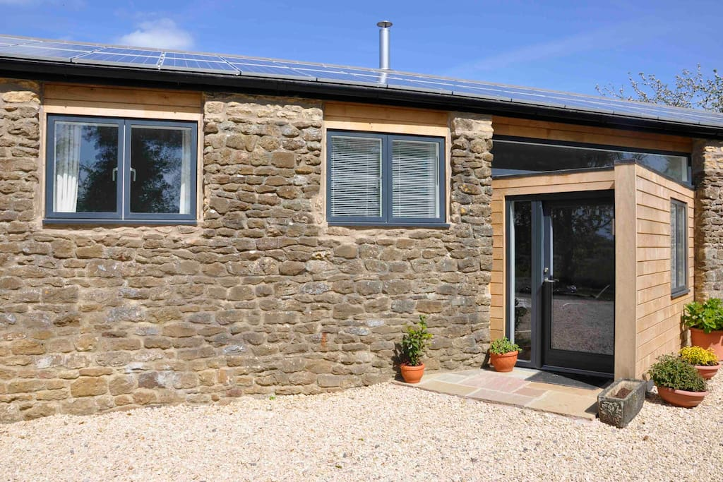 Newly converted barn
