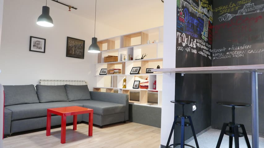 New and Perfectly Located Studio - Загреб - Квартира