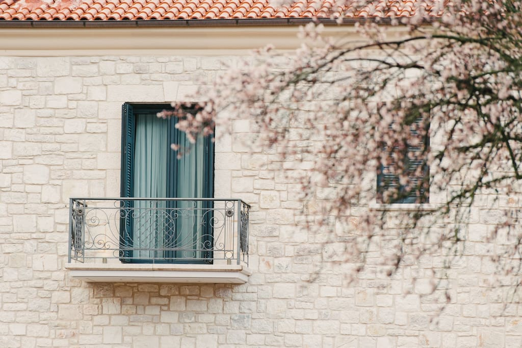 Balcony at Levidi Suites