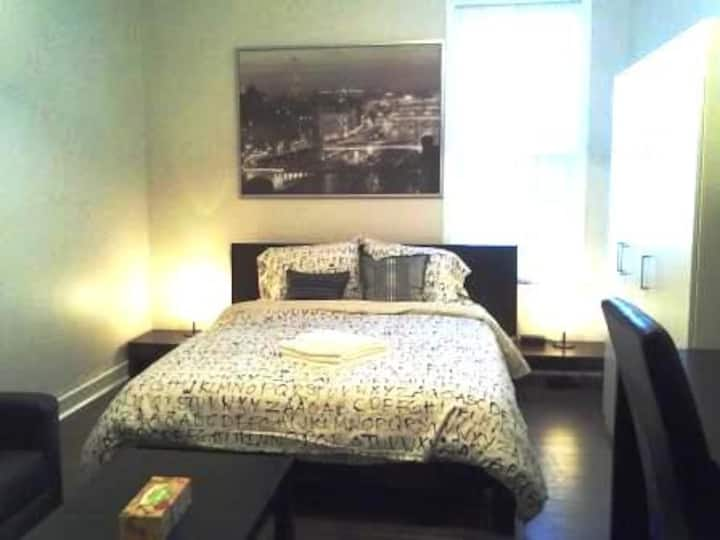 Furnished Downtown Studio Suite