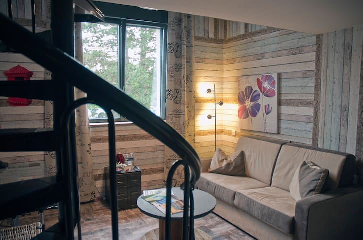 A Spinning with luxury guest rooms - Saint-Quentin - Bed & Breakfast