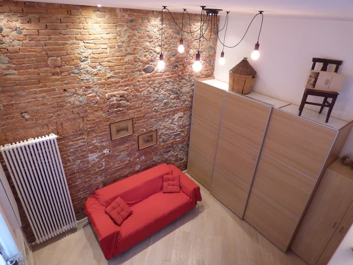 """La cantinella torinese"" Loft, 5 min from Center"