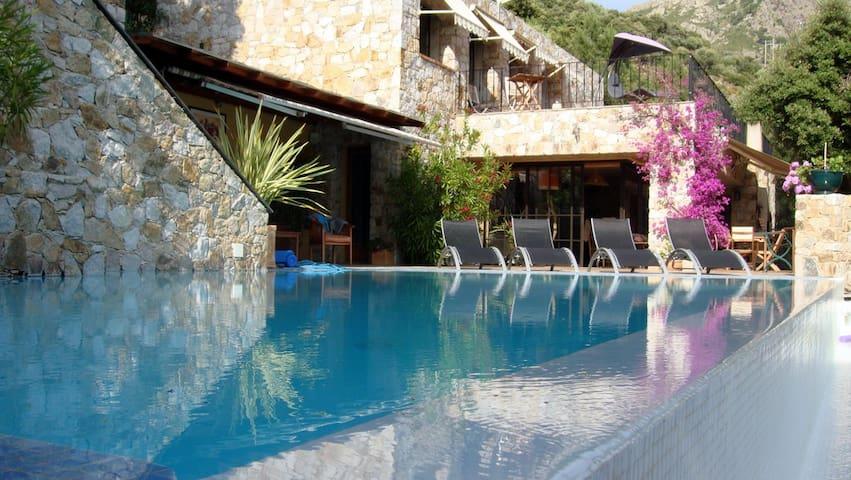 Calvi -Luxury villa 8p with sw.pool - คาล์วิ - วิลล่า