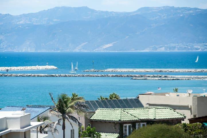 Ocean Vue Home Steps to Beach 3b/2b - Playa del Rey - Dům