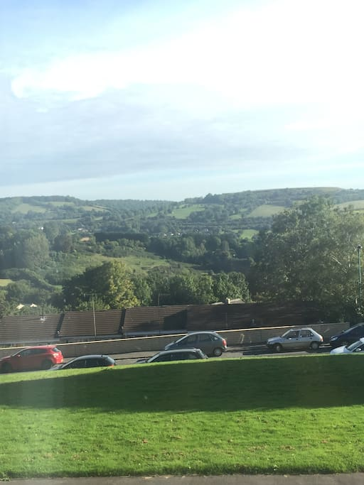 Wonderful views.