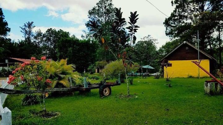 Cabañas y centro turístico Llano del muerto