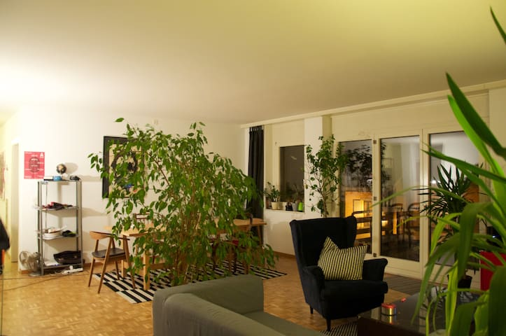 Chambre chaleureuse proche du centre ville - Yverdon-les-Bains - Wohnung