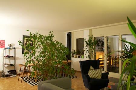 Chambre chaleureuse proche du centre ville - Yverdon-les-Bains