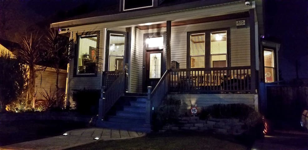 Downtown Tracy Victorian Entire House Sleeps *6 *