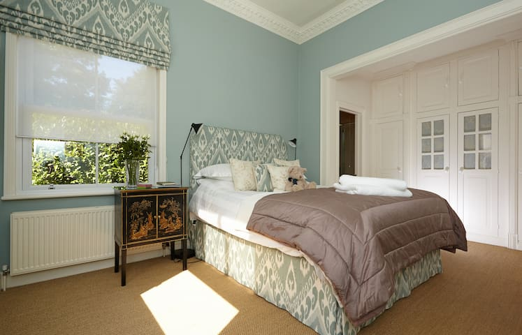 One of the Guest Rooms with en-suite shower room and under floor heating
