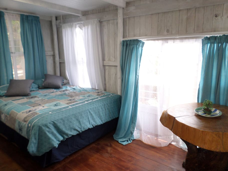 Airconditioned Bedroom with lots of cupboard space