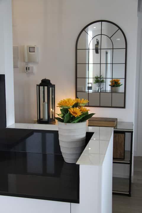 Luxury frontline apartment. El Valle Golf Resort.