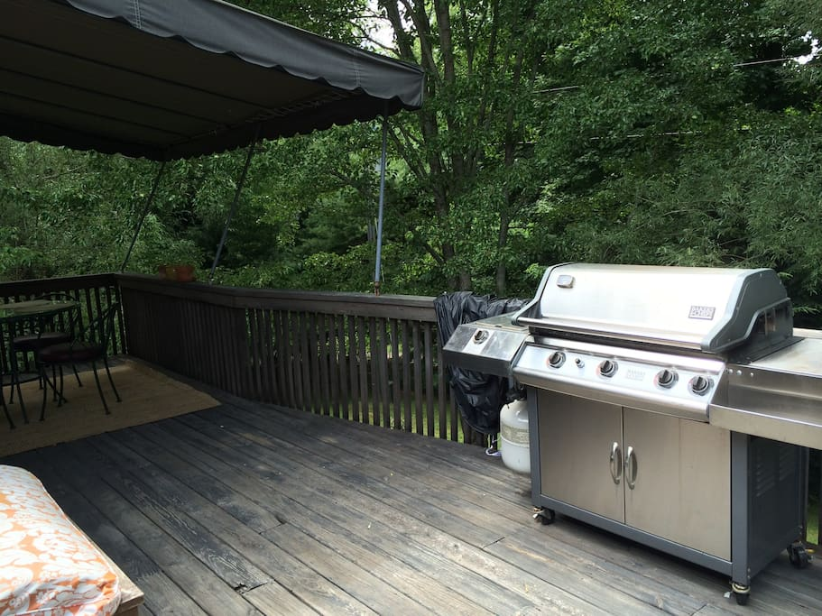 Your Gas BBQ on your deck