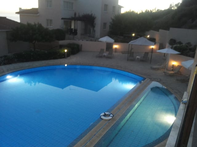 Relaxing, sea view, very calm 2 bedroom apartment